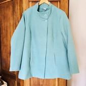 Пальто весеннее мятного цвета