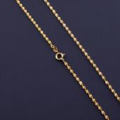 супер! очень красивая и нежная цепочка, плетение французская косичка 45 см, позолота 585 пробы