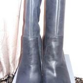 Фирменные кожаные ботинки Ecco. 41р