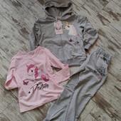 Шикарный костюм девочке 3ка Единорог р8