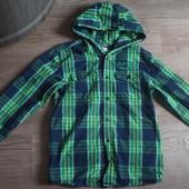 Стильная хлопковая рубашка Yigga 158-164 Сост.отл!