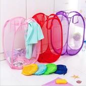 Корзины (сетки) складывающиеся для белья или детских игрушек