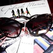 Романтичные солнцезащитные очки от Gabriella Marioni с оправой с цветами.100%протектор защиты.
