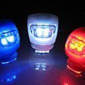 Светодиодный фонарик для самоката и велосипеда HJ008 - 2 led Light set. 3 режима.