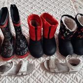6 пар детской обуви на ногу 19-21 см, р. 31, 32,33 см, 6-8 лет. Бесплатная доставка