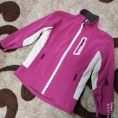 Курточка Soft Shell с отражателями Р 150 для девочки