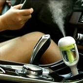 Увлажнитель воздуха и ароматизатор в авто розовый