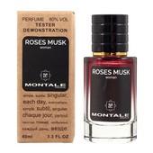 """60мл. Необычайный аромат от Монталь """"Roses Musk"""" в тестере. Отличный аромат,долгоиграющий шлейф!"""
