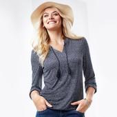 ☘ Ніжна й м'яка блуза з пензликами від Tchibo (Німеччина), наші розміри: 46-48 (40/42 євро)