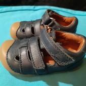 Полностью кожаные открытые ботиночки Bundgaard, разм. 19 (12 см ст.) Сост. очень хорошее!