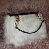 Женская сумочка, мех