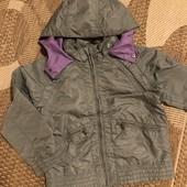Куртка трансформер від Zara на 5-6 років зріст 116 см