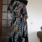 плаття волан,на одне плече,воздушне