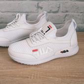 Стильные модные кроссовки Fila/Фила 35 36 37 38 39 40 41
