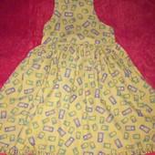 Платье на 4-6лет.