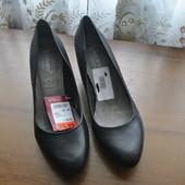 Оригинал!кожанные туфельки бренда venturini из германии р 39 ст 25 см