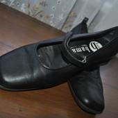 Кожанные туфельки бренда bama из германии,р 40 ст 25.5