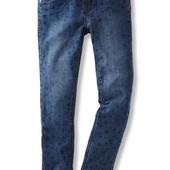 Стильні джинсові треггінси з зірочками від Tchibo (Німеччина)