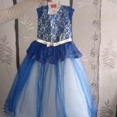 Святкове плаття на 7 років розмір 32