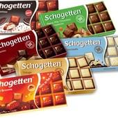 Шоколад шогеттен Schogettten Германия. Лот 1 шоколадка. По цене ставки любое количество