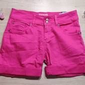 Бершка!!! Джинсовые женские шорты, шортики! Цвет светлее в жизни! 34 евро, полномерные!