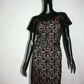 Качество! Стильное ажурное платье от George в новом состоянии, р. 18+-