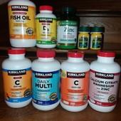 Вітаміни з США. Будь які на ваш вибір, окрім айспірину.