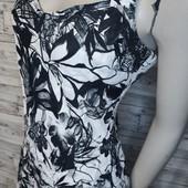 Платье лен новое без бирки c ассиметричным пошивом