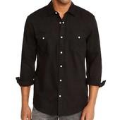 Отличная, плотная чёрная рубашка Livergy Германия размер M (39/40)