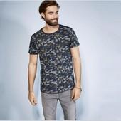 Отличная мужская камуфляжная футболка Livergy Германия размер M (48/50)