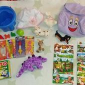 Лот самых разных игрушек+настольных игр