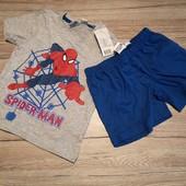 Германия! Пижама на мальчика 86-92 см рост 12-24 м spiderman