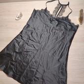 Германия!!! Шикарная атласная ночнушка, пенюар с красивой спинкой! 44 евро (50 наш)!