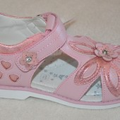 27 рр 16.1 стелька Красивые босоножки сандалии для девочки Том.м Том