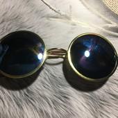 Зеркальные стильные солнцезащитные очки