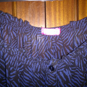 Вискозная блузка-туника 54-56 распашонка