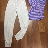 Комплект,спортивные штаны и футболка