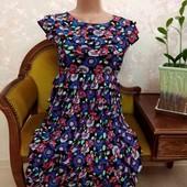 Красивое женское платье в оборках Topsho