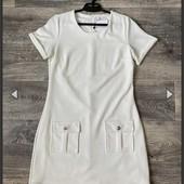 Белое платье freebird l