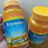 Поддерживаем нервную систему Комплекс витаминов группы B с рисовыми отрубями, 60 штук, Америка