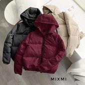 Модная и стильная куртка с капюшоном демисезонная весенняя, 42-44, 44-46, 48-50 рр