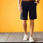Классные стильные мужские коттоновые шорты Livergy Германия размер 52