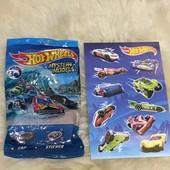 Машинка-сюрприз базовой коллекции Hot wheels Mattel оригинал!!!+ 10 наклеек!!!