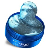 Патчи для глаз Liftheng jellyfish Collagen с экстрактом медузы и коллагеном - Оригинал