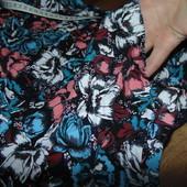 Роскошная длинная юбка в цветы