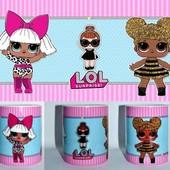 Чашки Для девочек ЛОЛ (можно ваше фото и текст)