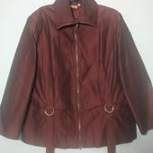 Стильная курточка ветровка большого размера