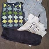 Пакет одежды для мальчика на 1-2 года