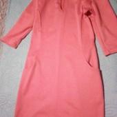 Классное Розовое платье . Размер 42.