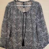 Tako Fashion шифоновая блуза на резиночке S 36-38